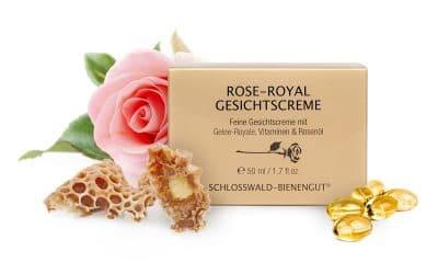 Rose-Royal Gesichtscreme – Schlosswald Bienengut