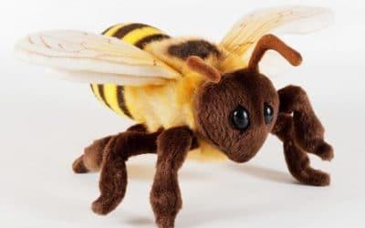 Biene Plüschtier (Plüschbiene)