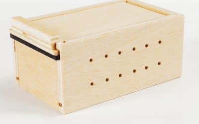 Transportbox für Bienen (Holz)