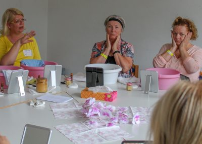 Workshop Gesichtsbehandlung